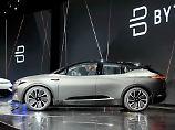 Die in China angesiedelte Firma Byton will  mit seinem E-Auto die deutschen Premium-Hersteller BMW, Mercedes-Benz und Audi herausfordern.