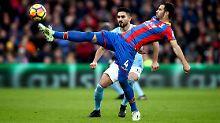 Luka Milivojevic und seine Kollegen von Crystal Palace spielen gegen Manchester City aufmüpfig - und beschenken sich immerhin mit einem Unentschieden.