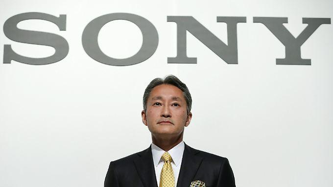 """Sony-Chef Kazuo Hirai will den Nutzern seiner Geräte """"eine kreative, spannende und unterhaltsame Zeit garantieren""""."""