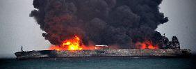 Am Rande einer Umweltkatastrophe: Rohöl droht Ostküste Chinas zu verseuchen