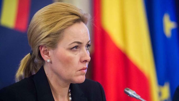 Carmen Dan, Innenministerin in Rumänien.