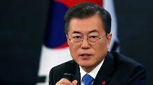 Gespräch mit Kim möglich: Südkorea-Präsident kommt Norden entgegen