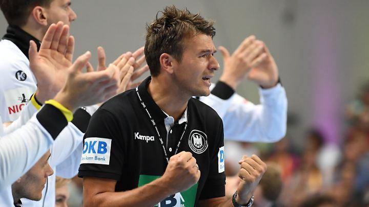 Im ersten Turnier gleich unter Druck: Neu-Bundestrainer Christian Prokop.