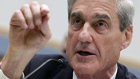 Robert Mueller soll herausfinden, ob es Wahlbeeinflussung aus Moskau gab und ob Donald Trump etwas damit zu tun hatte.