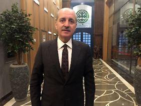 Der türkische Tourismusminister Numan Kurtulmus.