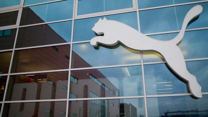 Macht einen mächtigen Satz: die Aktie von Puma.