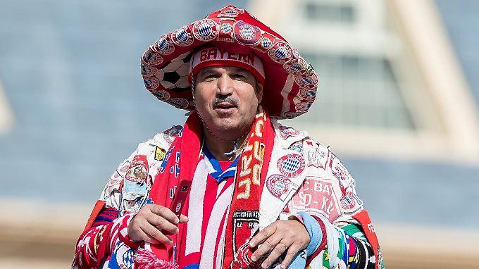 Der FC Bayern hat auch in Katar seine Fans.