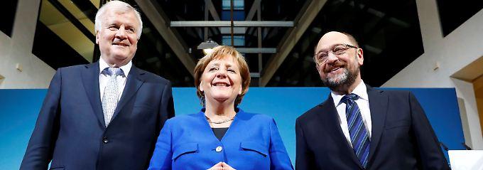 """""""Antwort"""" auf Wahlergebnis: Sondierungspapier euphorisiert Parteichefs"""