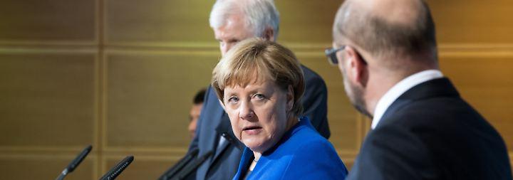 """Angela Merkel zur Sondierungsergebnissen: """"Es ist ein Papier des Gebens und des Nehmens"""""""