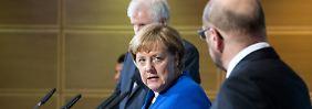 """Angela Merkel zu Sondierungsergebnissen: """"Es ist ein Papier des Gebens und des Nehmens"""""""