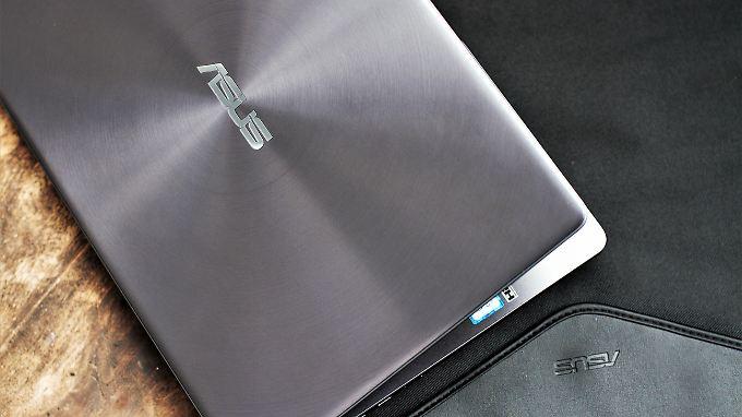 Das Zenbook 13 ist ein Luxus-Ultrabook: schlank, leicht und edel.