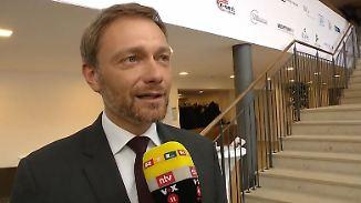 """Lindner zur neuen Großen Koalition: """"Mehr Realismus als mit den Grünen"""""""