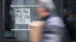 Kaum zu glauben, aber wahr: Stuttgarter Club wehrt sich gegen Wildpinkler
