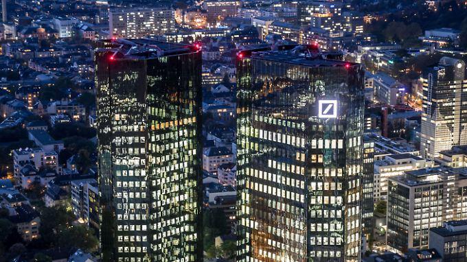 Die Deutsche Bank hat sich bereits auf Zusammenschlüsse eingestellt.