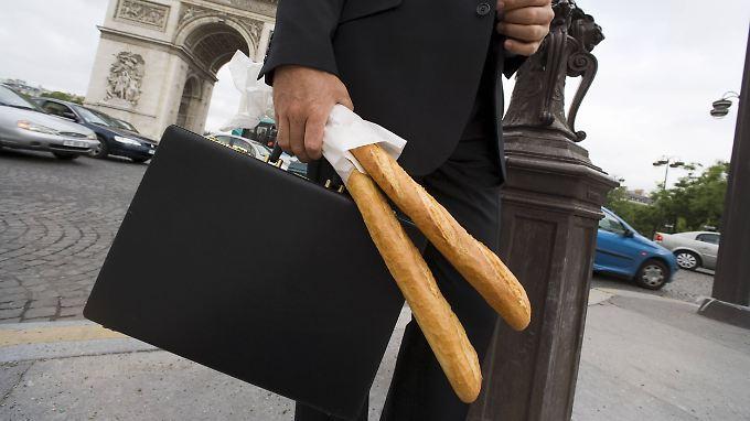Man müsse die Exzellenz der Weißbrotstange bewahren, findet Frankreichs Staatschef Macron.