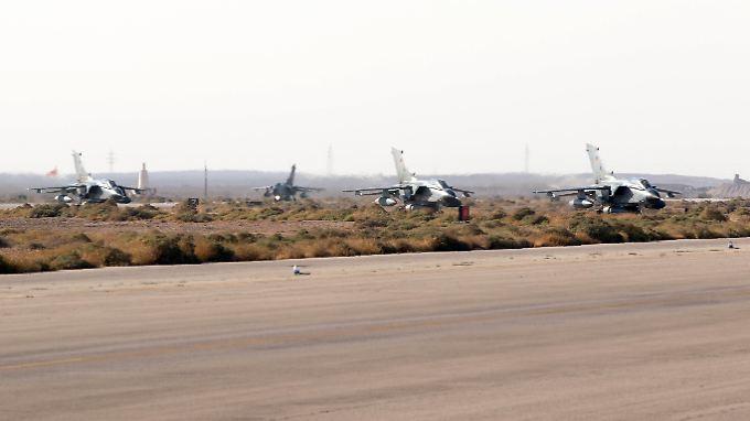 Tornados der Bundeswehr in Jordanien.