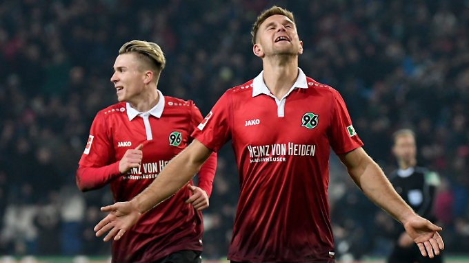 Hannovers Niclas Füllkrug erlegte den FSV Mainz 05 im Alleingang.