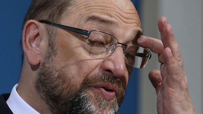 Parteichef Martin Schulz dürfte das Votum der Genossen nicht begeistern.