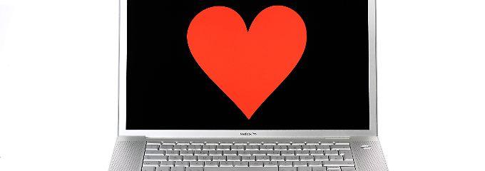 Manchmal soll ja hinter dem Bildschirm tatsächlich die große Liebe warten.