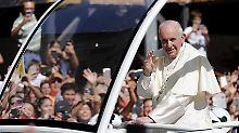 """""""Nicht wiedergutzumachen"""": Papst bittet in Chile um Verzeihung"""