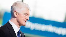 Vorstandschef unter Druck: Investoren wollen Thyssenkrupp zerschlagen