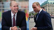 Fast-Glatze als starkes Signal: Prinz William steht zum Haarausfall