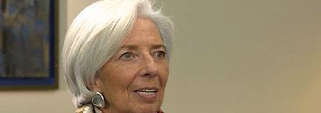 """Interview mit IWF-Chefin Lagarde: """"Die deutsche Regierung ist wichtig"""""""