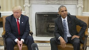 """Börse als Trumps """"Fieberthermometer"""": USA schwingen bereits seit Obamas Amtsantritt auf"""