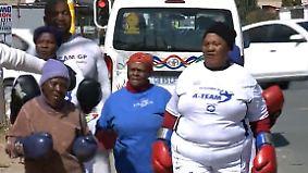 Schlagkräftige Damen: Keiner legt sich mit Südafrikas boxenden Omas an