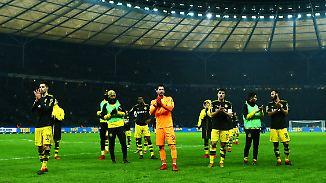 Können momentan weder mit noch ohne Aubameyang: die Dortmunder