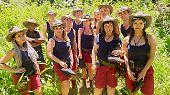 Das sind sie, unsere zwölf hoffnungsvollen Kandidaten: Wer wird sich wohl am Ende die Dschungelkrone aufsetzen?