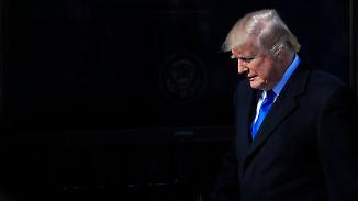 Shutdown an Trumps Jahrestag: USA erleiden Regierungsinfarkt