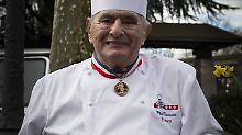 Paul Bocuse im Jahr 2016.