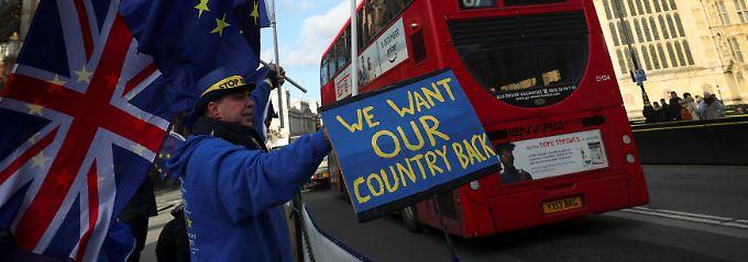 Kein zweites Referendum: May lehnt Exit vom Brexit ab