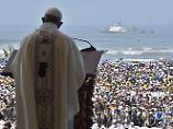 """Franziskus in Lateinamerika: Papst geißelt """"Plage der Gewalt an Frauen"""""""