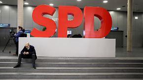Sonderparteitag in Bonn: SPD-Spitzenpolitiker zeigen sich zuversichtlich