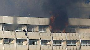 Taliban-Anschlag in Kabul: Angreifer schießen in Luxushotel um sich