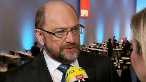 """Schulz über den Weg zur GroKo: """"Ich muss auf die Kritiker zugehen"""""""