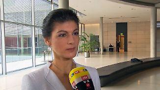 """Sahra Wagenknecht im n-tv Interview: """"Habe großen Respekt vor den 44 Prozent der SPD"""""""