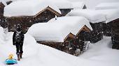 Der Ausnahmewinter: Alpen versinken im Schnee