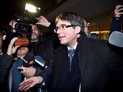 Vorerst kein neuer Haftbefehl: Puigdemont soll Katalonien wieder regieren