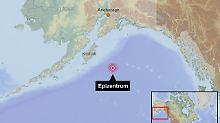 Schwere Erdstöße im Pazifik: Behörden geben Tsunami-Entwarnung
