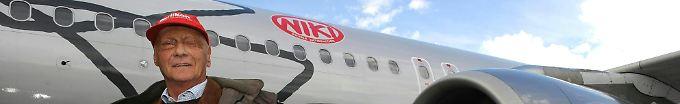 Der Tag: 12:48 Lauda will bei Niki mit 15 Flugzeugen starten