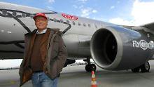 Der Tag: Lauda will bei Niki mit 15 Flugzeugen starten