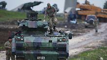 Mindestens 100 Tote in Afrin: Türkei droht mit Ausweitung der Offensive