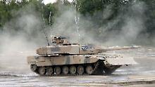 Panzerfahrzeuge gehören zu den deutschen Exportschlagern.