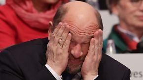 Parteichef auf Abruf: SPD verweigert Schulz zunehmend die Gefolgschaft