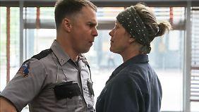 """""""Das darf man nicht sagen!"""" Dixon und Mildred geraten des Öfteren aneinander."""