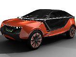 Das Konzeptfahrzeug von Covestro ist komplett aus Kunstdtoff gefertigt.