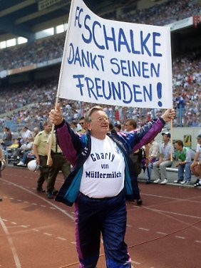 Schalker Unikum: Charly Neumann.